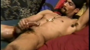 Two guys are showing off their nice big cock - Encore Video