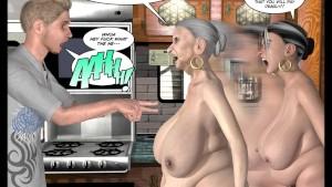 3D Comic: The Uncanny Valley 1