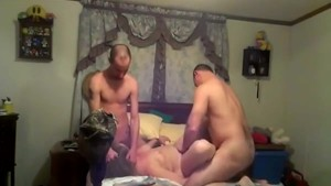 Funny homemade 3some