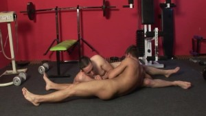 Nice lifting bro, can I suck your cock?