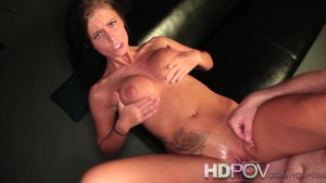 HDPOV Whitney Westgate sexy striptease and cock riding