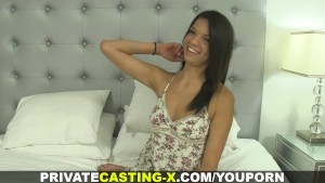 Private Casting X -Tanned babe loves to fuck
