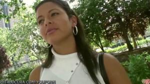 Puta Locura Amateur Latin Babe paid for sex