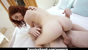 ExxxtraSmall - Petite Redhead Alice Green s Pussy Pounding!