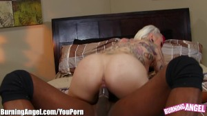 BurningAngel Big Assed Emo Babe on BIG BLACK Member