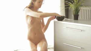 Horny Tini loves playing with her pussy