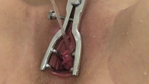 Teen cutie gets her ass filled with piss