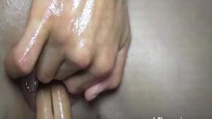 Horny blond amateur slut fisted by multiple men