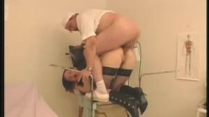 Doctor Examines Her Patients Internals