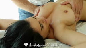 PureMature - Oiled up milf Charley Chase gets fucked