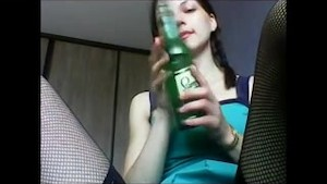 Find her on W1LD4U.COM - A Bottle is not only for drink
