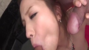 Dazzling Tsubasa Aihara deals two cocks in rough scenes