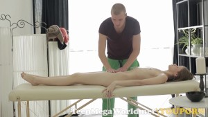Nasty masseur fucks his beautiful client in the asshole