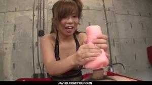 Serious POV porn play along kinky Konatsu Aozona