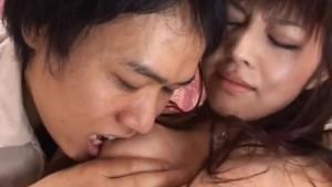 Haruna Ayase gets dildo and licked shlong