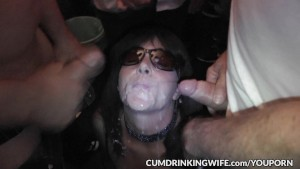 Hot wife Marion gangbanged by 100 s of guys