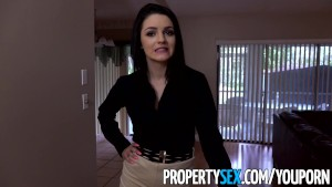 PropertySex - Casual real estate agent fucks boss to keep her job