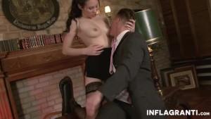 INFLAGRANTI Sexy Asian Secretary