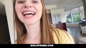 SisLovesMe - Angelic Step-Sis is A Horny Slut