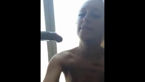 Amateur gives blowjob from his POV using Android phone