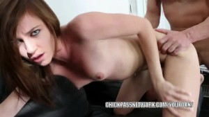 Teen hottie Emma Stoned takes some dick in her tight twat