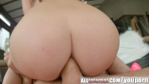 Allinternal pretty Liona gets her tight ass filled with cum