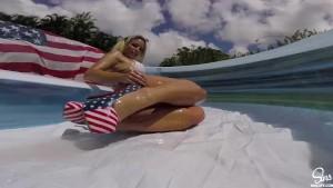 Kissa Sins Twerking - Big Booty USA Oiled up - SinsLife.com