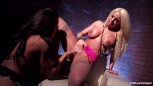 White Chair Lesbians With Britney Amber