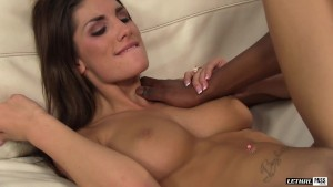 August bangs her stepbrother and loves his BBC