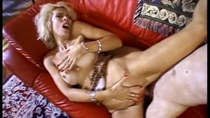 Trashy Blonde Housewife Deep Anal Sex