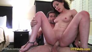 DTFSluts.com - Jennifer White s At Home Anal Fuck Tape