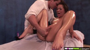 BrokenTeens - Help your hot body feel better with a huge cock