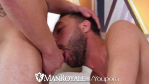 ManRoyale - After park workout blowjob and fuck with Carson Cruise