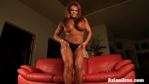Fitness Asian model pumps her pussy till its big and fat