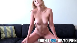 PropertySex - Landlord gets fucked by criminal tenant