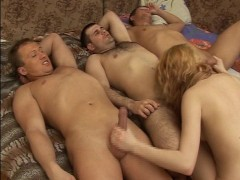 Blonde can do 3 men at a time PT.1/2