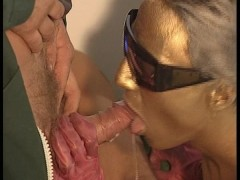 Series of 3 wacko euro sex scenes, including the Golden Girl sucking off Mr. Obsessive Perv Cleaner