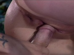 Sexy blonde has a nice tight ass to fuck