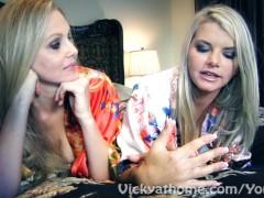 Superstar MILFS Vicky Vette & Julia Ann's First EVER Video?!