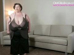 Carla Biggest Tits in the World