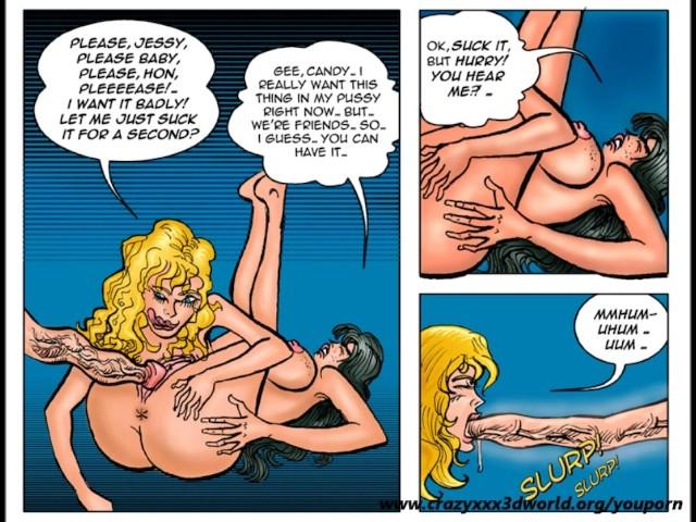 2d comic pleasure bot 1